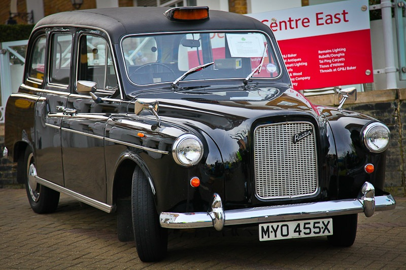Cabalcade - one of the very last Austin FX4s