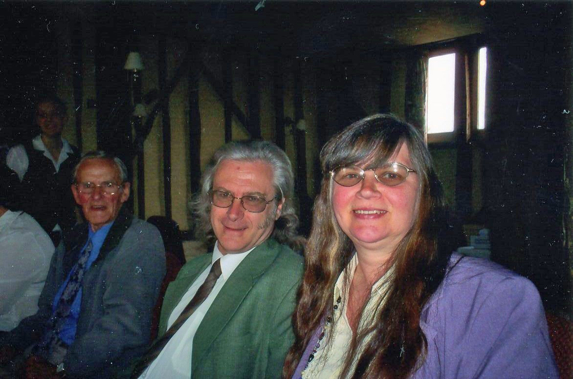 The late Keith White, with wife Pat at the 2006 LVTA AGM