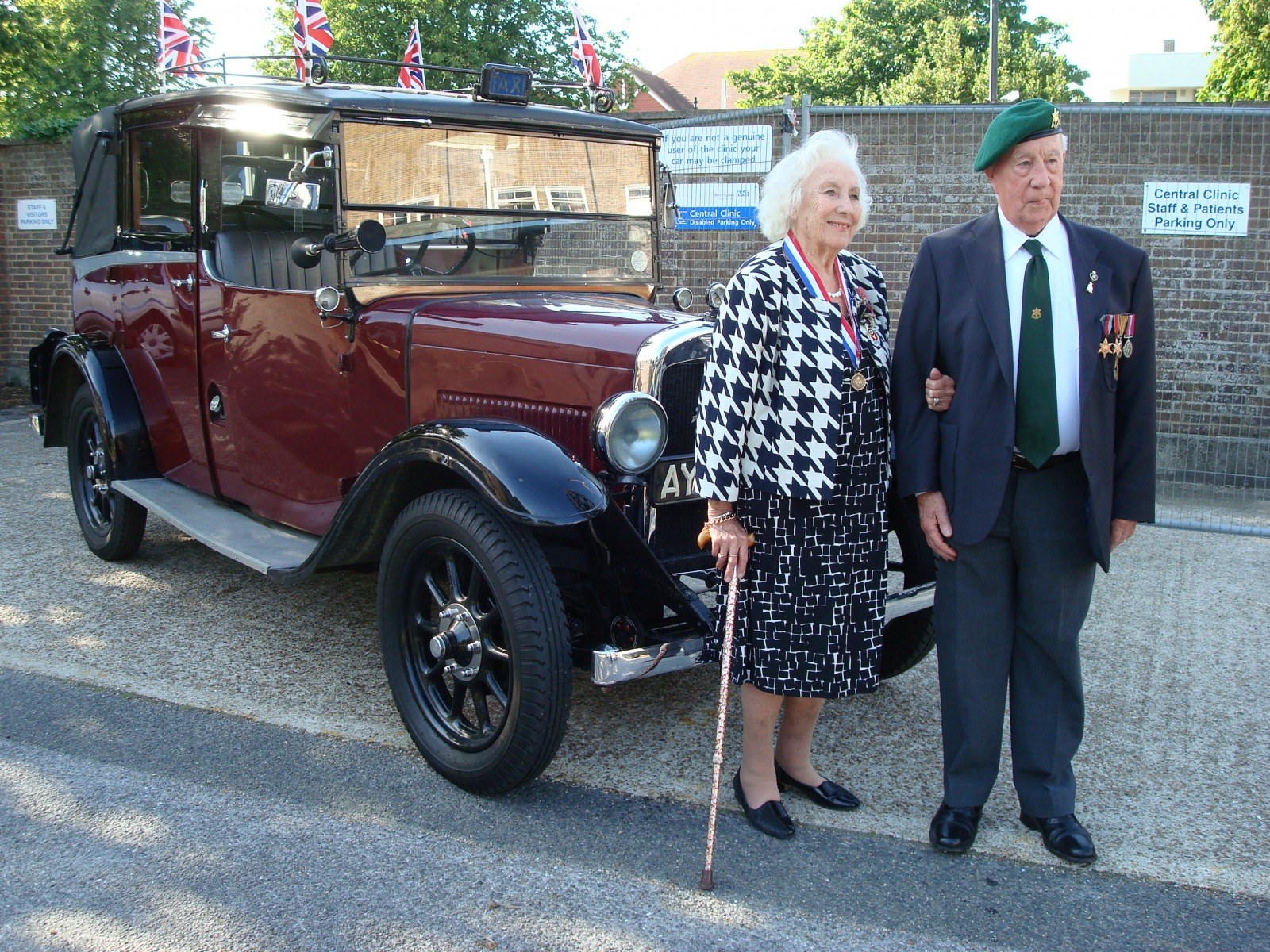 Military Veterans' Trip to Worthing - with Dame Vera Lynn