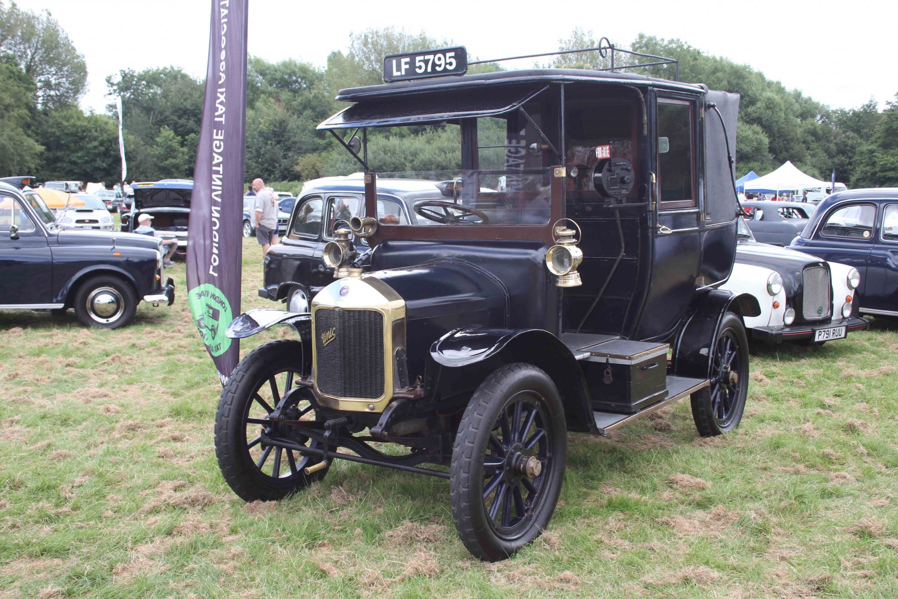 Uxbridge Annual Show - this Unic 12-16 is the oldest London taxi in regular use