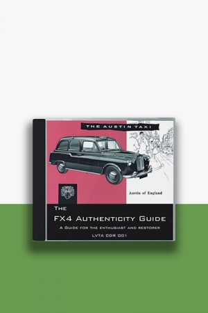 Taxi Workshop Manuals CD-ROM