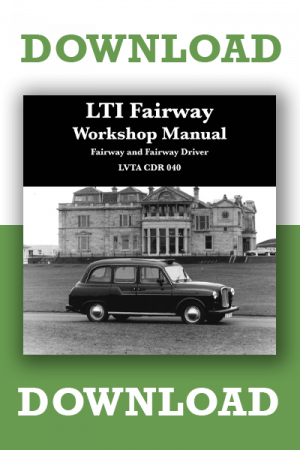 Taxi Workshop Manuals Download